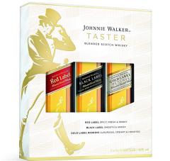 Johnnie Walker Taster Set Luxe 3x5
