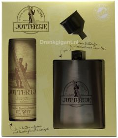 Juttertje 35cl Giftpack + Heupflacon