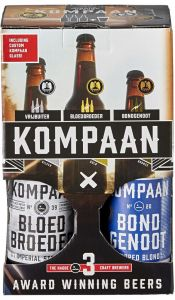 Kompaan Award Winning Beers