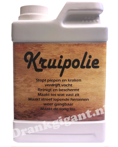 Kruipolie Jerrycan Honing Drop Likorette