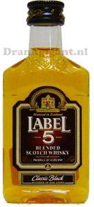 Label 5 Whisky mini