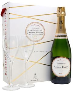 Laurent-Perrier Giftpack + Flutes