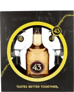 Licor 43 Cuarenta Y Tres Cadeau + Glazen
