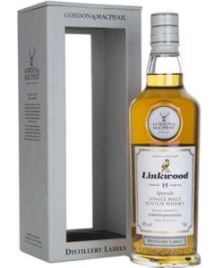 Linkwood 15 Years G&M Distillery Labels