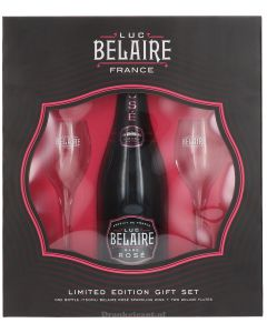 Luc Belaire Rose Giftpack