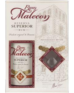 Malecon Superior 12 Years Giftpack
