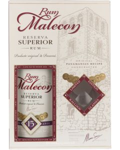 Malecon Superior 15 Years Giftpack