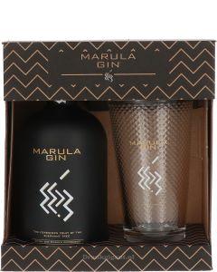Marula Gin Cadeau + Glas