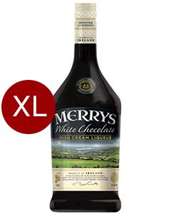Merrys White Chocolate Cream Liquer Magnum
