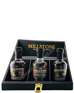 Millstone Whisky Gift set 3x20cl