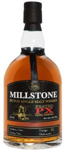 Zuidam Millstone Peated PX Single Malt Whisky