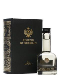 Legend Of Kremlin Vodka in Book Mini