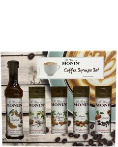 Monin Coffee Siropen Set
