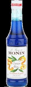 Monin Blue Curacao Siroop Klein