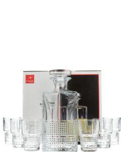 Novecento Liquor Set Karaf + Glazen
