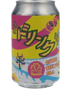 Oedipus Do-Ri-N-Ku Citrus Beer OP = OP ( THT 03-09-2021 )