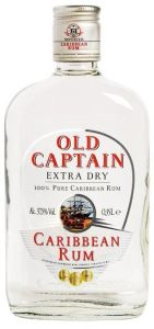 Old Captain Extra Dry Witte Rum