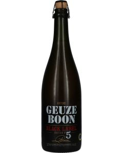 Oude Geuze Boon Black Label Edition No.5