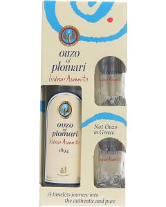 Ouzo of Plomari Giftpack