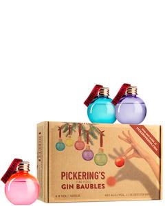 Pickering's Christmas Gin Kerstballen Set