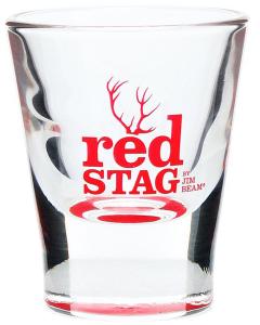 Jim Beam Red Stag Shotglas
