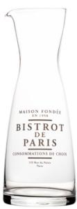 Water / Wijn Karaf Bistrot De Paris