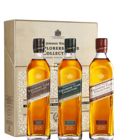 Johnnie Walker Explorer's Club Collection 3 Pack