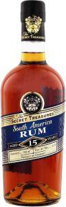 The Secret Treasures South America Rum 15 Years