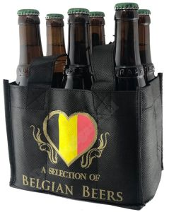 A Selection of Belgian Beers 6 Flessentas