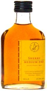 Sherry Medium Dry Keukenflesje