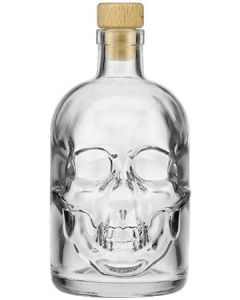 Skull Bottle Witte Rum