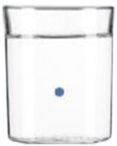 Sourcy Piet boon Blauw Glas