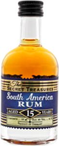 The Secret Treasures South America Rum 15 Years