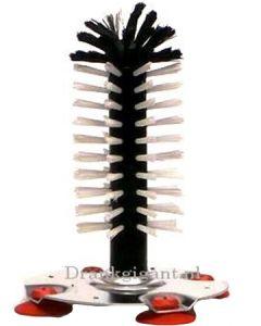 Spoelborstel Alu enkel 18 cm