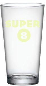 Super 8 Bierglas / Vaasglas