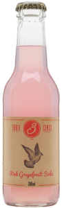 Three Cents Pink Grapefruit Soda