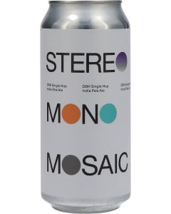 TO ØL Stereo Mono Mosaic DDH Single Hop IPA