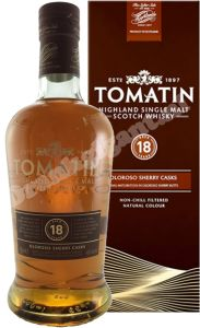 Tomatin 18 Year Oloroso Sherry Cask