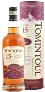 Tomintoul 15 years Portwood Finish