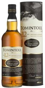 Tomintoul 12 Year Oloroso Sherry Cask