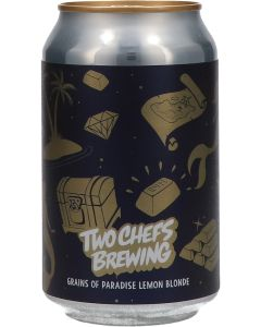 Two Chefs Brewing Grains Of Paradise Lemon Blonde