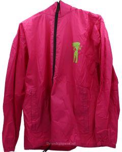 Wittekerke Rose Raincoat Size M