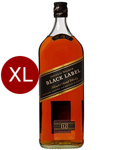 Johnnie Walker Black Label 3 liter XXL