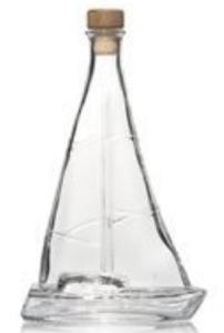 Zeilboot Caribbean Rum wit