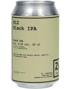 Zymologic #12 Black IPA OP = OP ( THT 24-11-21 )